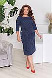 Сукня жіноча великого розміру 50,52,54,56!, фото 2