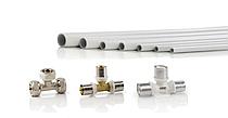 Трубы металлопластиковые и фитинги 63 мм