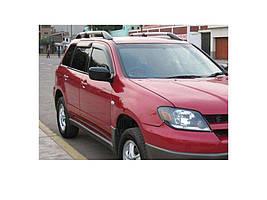 Mitsubishi Outlander 2001-2006 гг. Ветровики (4 шт, HIC)