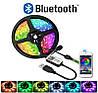 Светодиодная лента с Bluetooth, микрофоном и пультом SMD LED 5050 RGB блютуз