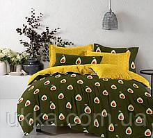 Двуспальное постельное бязь 100% хлопок Авокадо