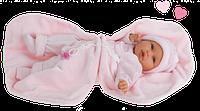 Кукла младенец Antonio Juan LOLO MANTA, 1897, 55см. Бесплатная доставка.