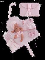 Кукла младенец в конверте Antonio Juan PITU COMBIADOR, 4064, 26см. Бесплатная доставка