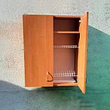 Сушка для посуды 60х72х30см в шкафу с полочкой, фото 3