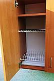 Сушка для посуды 60х72х30см в шкафу с полочкой, фото 4