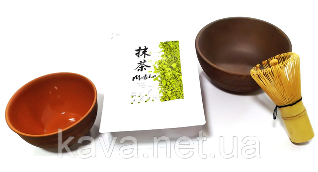 Комплект чай Матчу