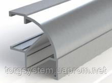 Профіль кутовий алюмінієвий для економпанелі 2440мм