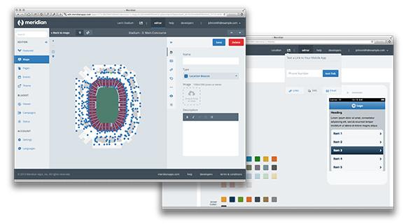 Платформа мобільних додатків Aruba Meridian Створіть кращий мобільний додаток для свого місця проведення