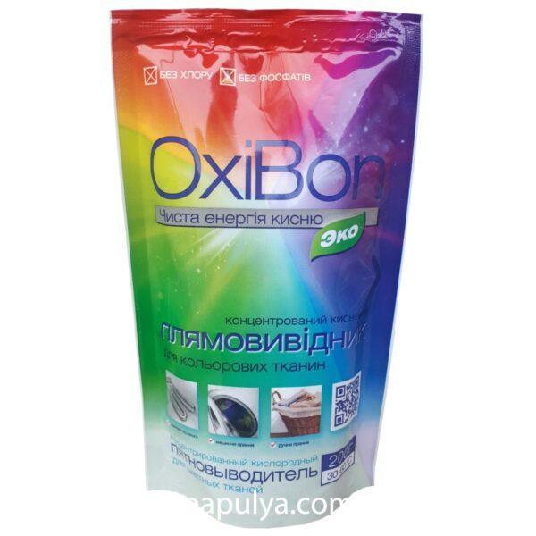 Плямовивідник Elensee OxiBon концентрований для кольорових тканин 200г