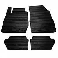 Коврики резиновые в салон Ford Fiesta 09-/Ford Fiesta 13- 4шт. Stingray