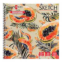Альбом для акварели Santi Floristics 210*210 мм Paper Watercolour Collection 10 л. 742834