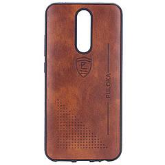 Чохол-накладка PULOKA Desi для Xiaomi Redmi 8 / 8a коричневий