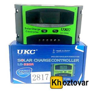 Контролер сонячної панелі LD-530A 30А Solar controler