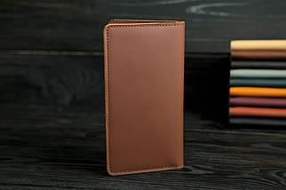 """Кожаный кошелек """"Лонг Тревел"""", кожа Grand, цвет Виски, фото 2"""