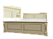 Кровать деревянная Версаль 90*200 эмаль, фото 2