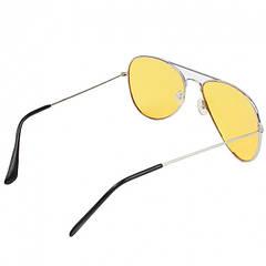 Антибликовые очки для водителей для ночного вождения в стиле Авиатор