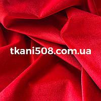 Оксамит тканина Червоний