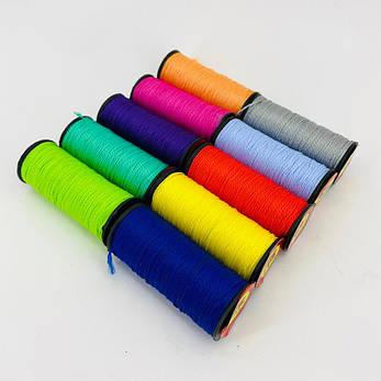 Нить обувная капроновая цветная 375 Текс 10 шт/упаковка, фото 2
