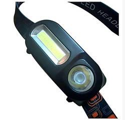 Налобний ліхтар акумуляторний з датчиком руху BL 1804A