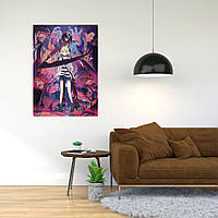 """Плакат-постер с принтом """"Angels of Death (Ангел Кровопролития Компьютерная игра)"""""""