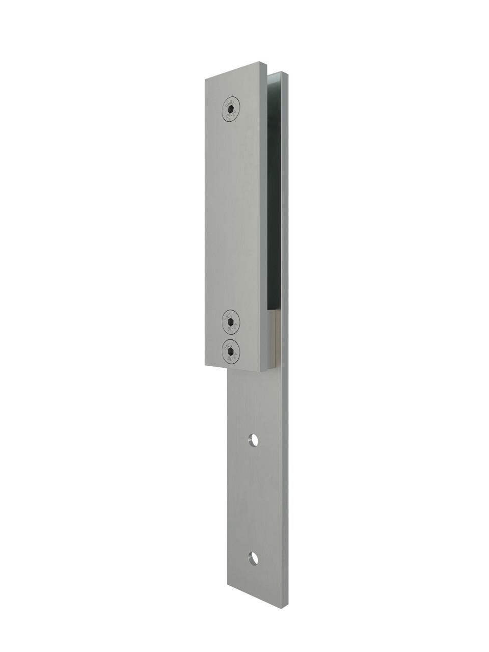 ODF-02-05-01 Стійка для скляних огорож MINI з нержавіючої сталі, кріплення поручнів зі скла, матове