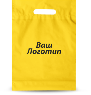 Пакет банан 25х30 (кольоровий), 30 мкм, 1+1