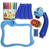 Дитячий стіл проектор для малювання з підсвічуванням | Стіл дитячий мольберт-проектор Baby для малювання з музикою, фото 6