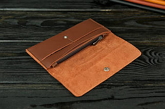 """Жіночий шкіряний гаманець """"Флай"""", шкіра Grand, колір Віскі, фото 2"""