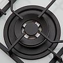 Газовая варочная поверхность ELEYUS LORA 60 WH CTF, фото 7