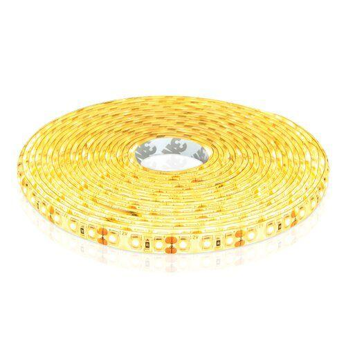 Светодиодная лента OEM ST-12-2835-120-WW-65 теплая белая, герметичная, цена за 5 м