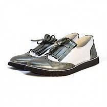 Туфли с бахромой 7929, фото 3