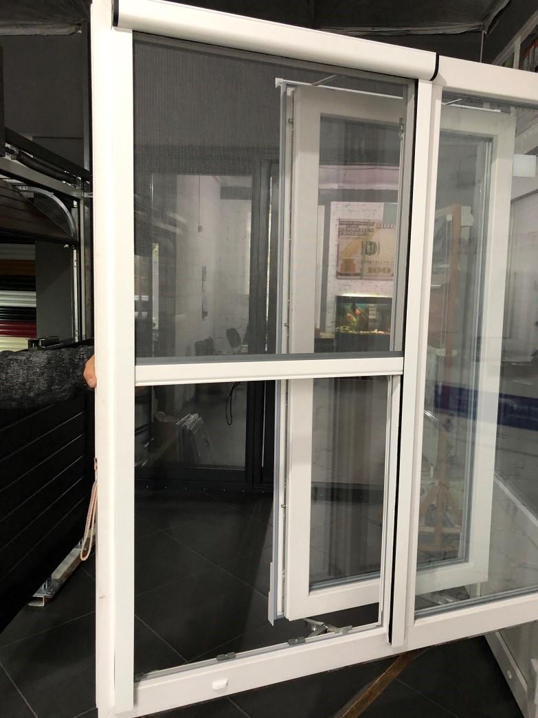 Рулонная москитная сетка на окна и двери (горизонтальная) размер 1700х1800