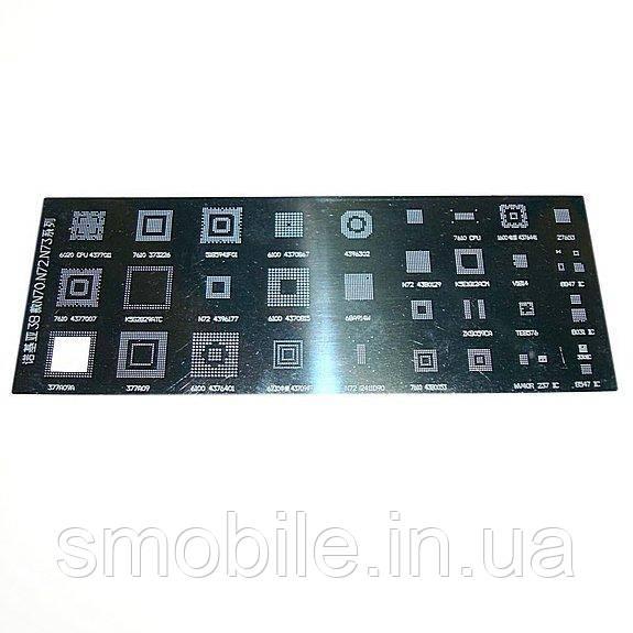 Обладнання Трафарет BGA (38) Nokia N70 N72 N73