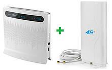 Комплект 4G WiFi роутер Huawei B593s-12 + Mimo антенна