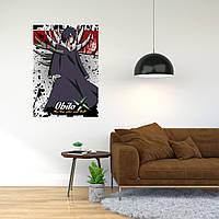 """Плакат-постер с принтом """"Обито Учиха (Персонаж аниме «Наруто»)"""""""