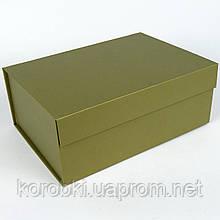 Подарочная коробка складная на магните, размер L, 29*22*12 см