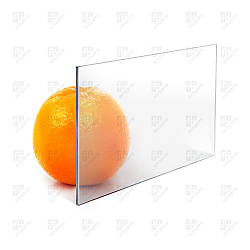 Монолитный поликарбонат Monogal, прозрачный, лист 2.05 х 3.05 м, 3 мм