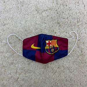Захисна маска Барселона (Barcelona) гранатова
