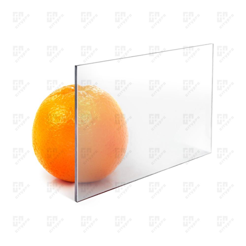Монолітний полікарбонат Monogal, прозорий, лист 2.05 х 6.1 м, 2 мм