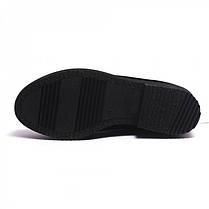 Ботинки замшевые на низком каблуке 835-47, фото 2