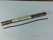 Спираль нихромовая 1.8 кВт. / 220 В. / длина - 460 мм. /диаметр - 6 мм.