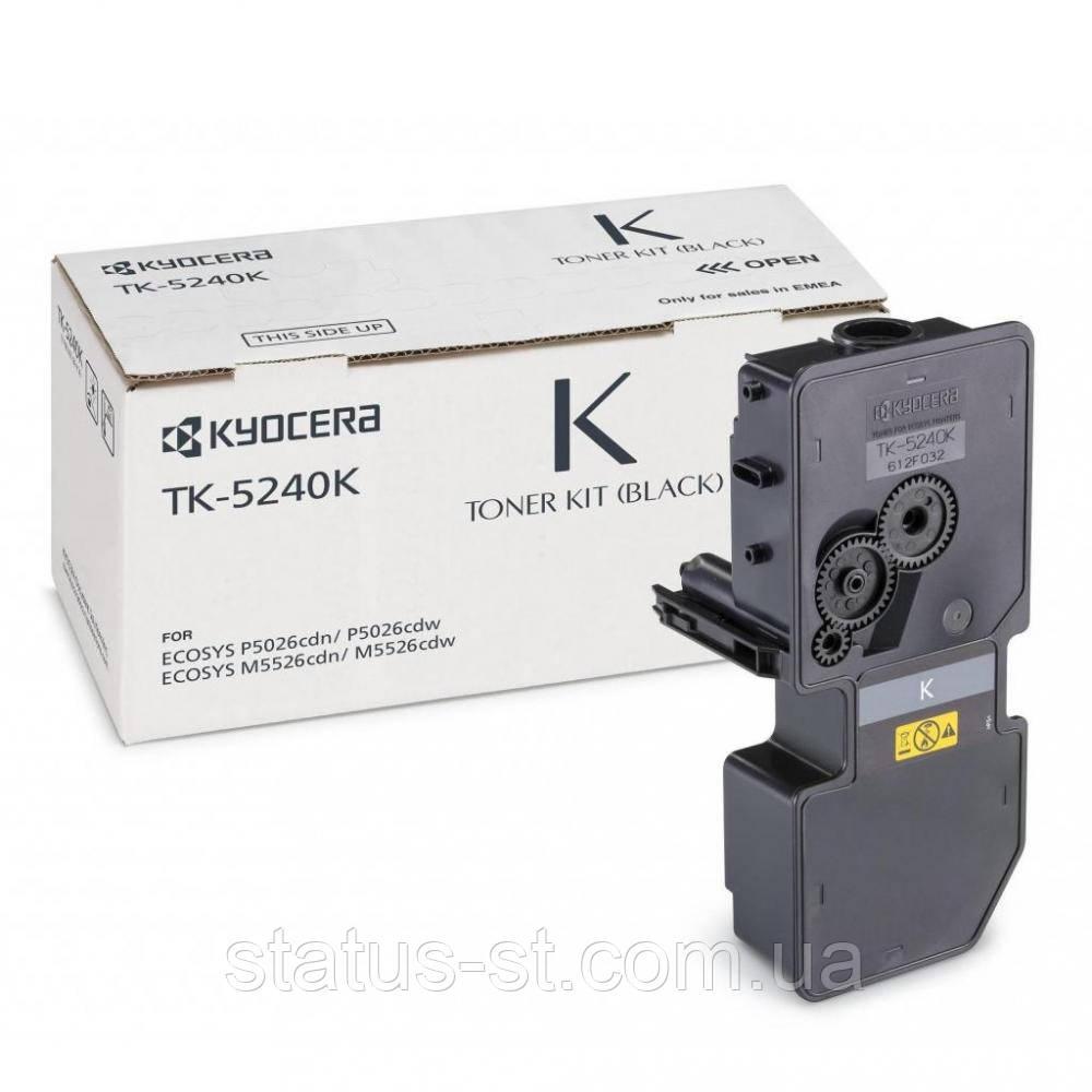 Заправка картриджа Kyocera TK-5240K Black для Kyocera ECOSYS M5526cdn, Kyocera Ecosys P5026cdn в Києві