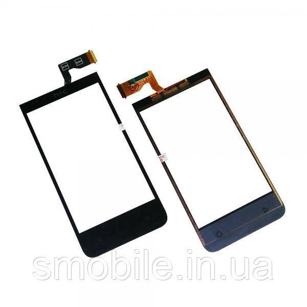 Сенсорный экран HTC Desire 300 301e черный (оригинал Китай)