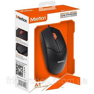 Комп'ютерна мишка USB Meetion MT-A1 (black)