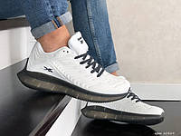 Белые спортивные кроссовки Reebok (рибок) мужские демисезонные 41-45 р сетка весна-лето подошва пена