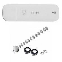 4G Wi-Fi LTE роутер ZTE MF79+Антенний комплект MIMO на 20 ДБ