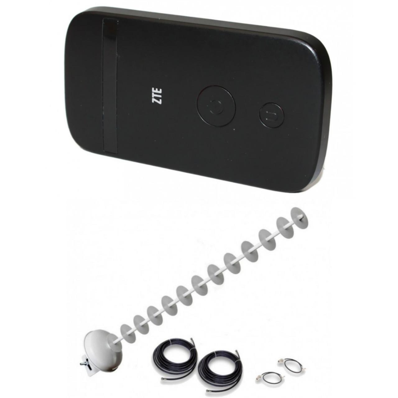 4G LTE або Wi-Fi роутер ZTE MF90 +Антенний комплект MIMO на 20 ДБ