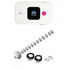3G/4G роутер Huawei E5577Cs-321+Антенний комплект MIMO на 20 ДБ