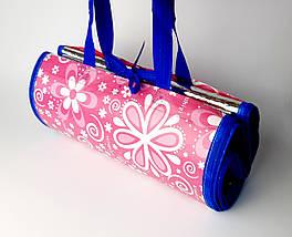 Пляжна підстилка, килимок сумка, покривало для пікніка 90х180 см