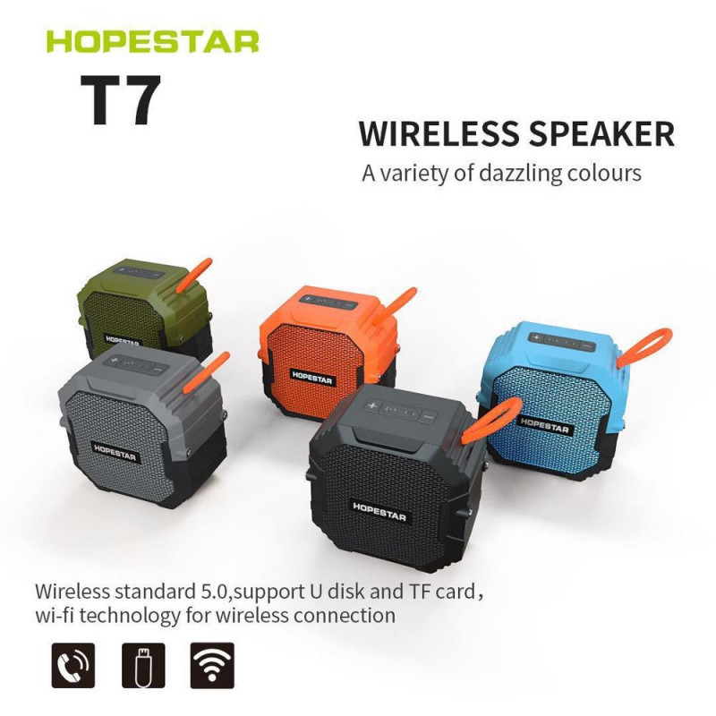 Колонка Bluetooth HOPESTAR T7